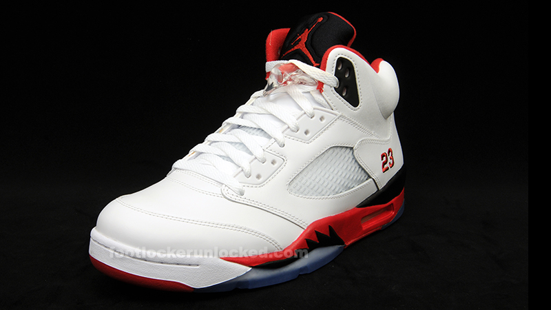 "finest selection 99607 0c9db Air Jordan 5 Retro ""Fire Red"" Release Details – Foot Locker Blog"