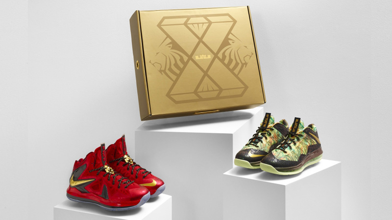 separation shoes 43176 206a9 Nike LeBron X Championship Pack Release Details – Foot Locker Blog