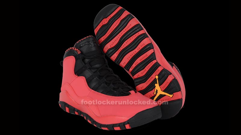 "pretty nice dd4ff 63c58 Girls GS Air Jordan 10 Retro ""Fusion Red"". October 18th - Posted By King  Cobra. Last ..."