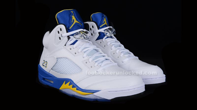 "Air Jordan 5 Retro ""Laney"" Release Details – Foot Locker Blog 7d5b47c13"