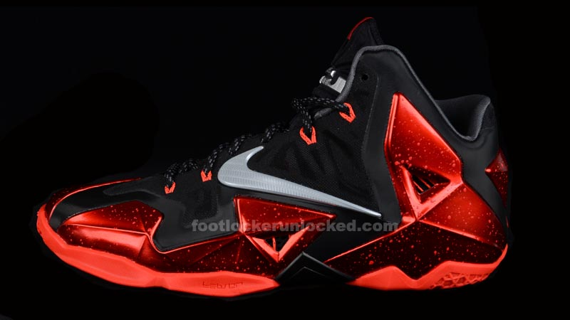 "buy online a3c7d a3f01 Nike LeBron 11 ""Away"" – Foot Locker Blog"
