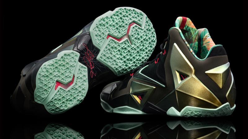 "ab4f1e7fddd0 Nike LeBron 11 ""King s Pride"" – Foot Locker Blog"