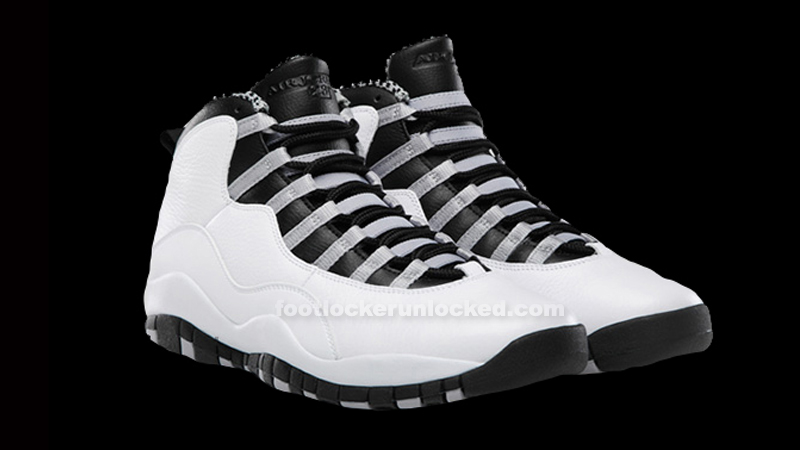 "buy popular 64bdd 8bb01 Air Jordan 10 Retro ""Steel"" Release Details – Foot Locker Blog"