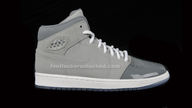 "bb997876e25d57 Air Jordan 1 Retro  95 ""Cool Grey"" – Foot Locker Blog"