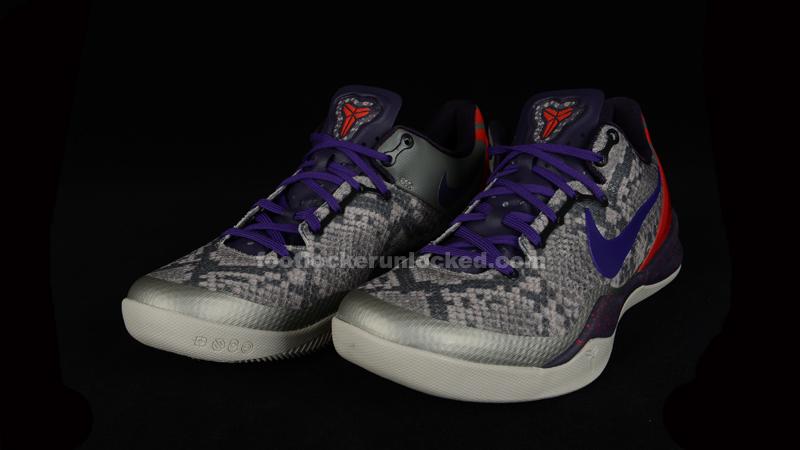 """287d066800e441 Week of Greatness  Nike Kobe 8 """"Mine Grey"""""""