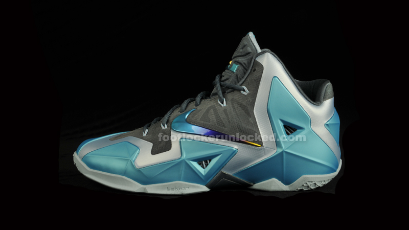 "65a354cd Nike LeBron 11 ""Gamma Blue"" – Foot Locker Blog"