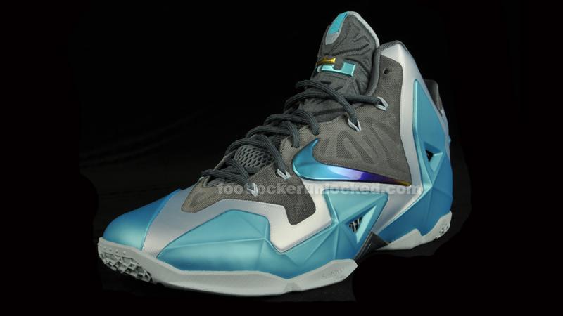 "c9c3ef520448 Nike LeBron 11 ""Gamma Blue"" – Foot Locker Blog"