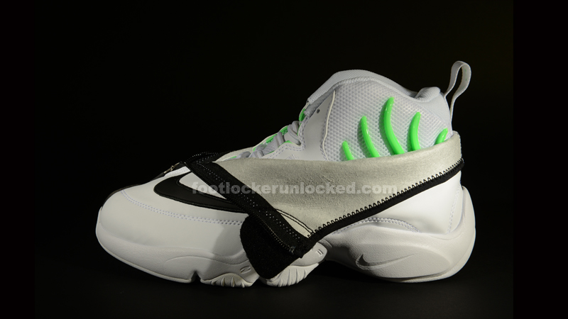 "6ce970fb66c8f Nike Air Zoom Flight ""The Glove"" – White Black-Poison Green – Foot ..."