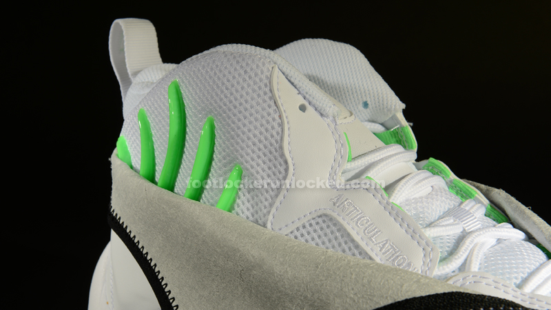 "4f3320a453b5 Nike Air Zoom Flight ""The Glove"" – White Black-Poison Green – Foot ..."