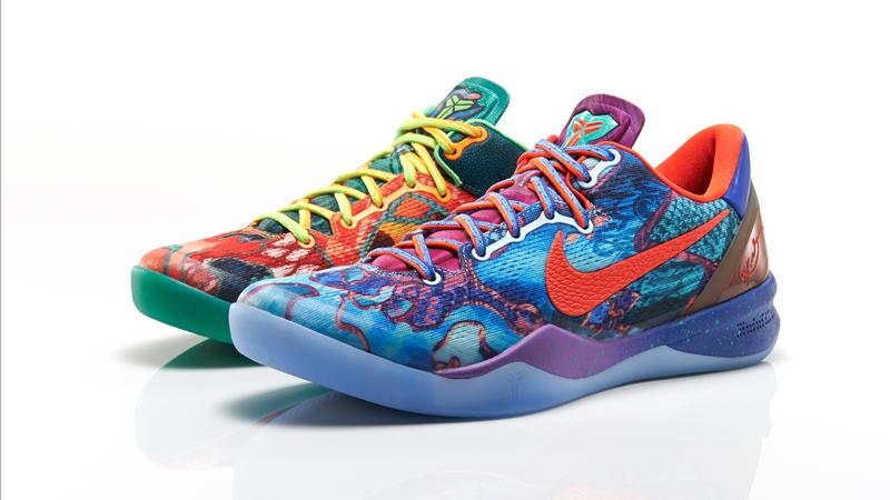 """Nike Kobe 8 """"What the Kobe"""" Release"""