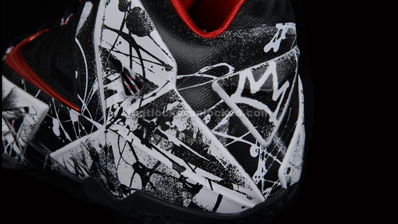 "5a4948394dfe6 Nike LeBron 11 ""Graffiti"" – Foot Locker Blog"