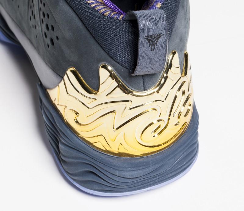 Cheap New Nike Air Jordan Melo M10 Grey Yellow Volt Black