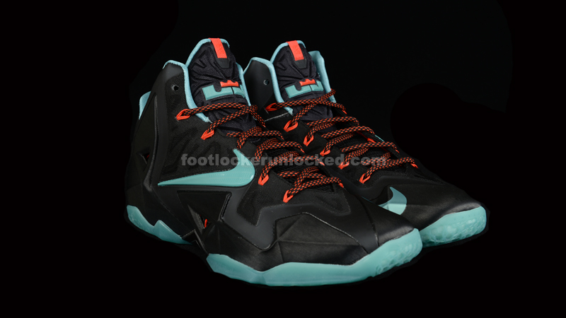 "new product cdc71 8b006 Nike LeBron 11 ""Diffused Jade"""