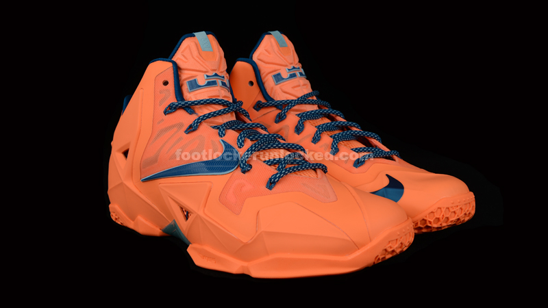 "3fd28fe2f74fb Nike LeBron 11 ""Atomic Orange"""