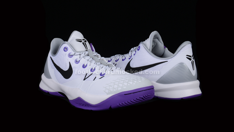 65eb359abfe0 FL Unlocked Kobe Venomenon White Black Purple 01. The Nike Zoom Kobe  Venomenon ...