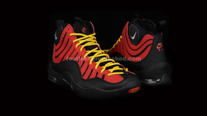 "d711ffc7179f3a Nike Air Bakin  OG ""Black Metallic Silver Red"""
