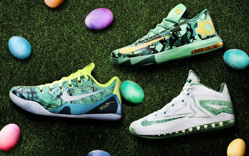 finest selection 31c68 06d9c Nike Basketball Easter Collection Release Details