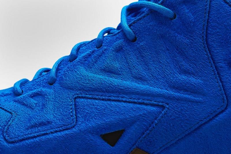 detailed look 0947f 21227 FL Unlocked Nike LeBron 11 EXT Blue Suede 03.  FL Unlocked Nike LeBron 11 EXT Blue Suede 04.  FL Unlocked Nike LeBron 11 EXT Blue Suede 05