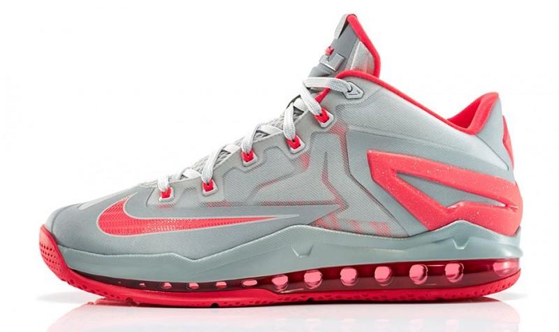best sneakers e0588 b9448 FL Unlocked Nike LeBron 11 Low Laser Crimson 01. Low cut and sleek, the Nike  LeBron 11 Low represents ...