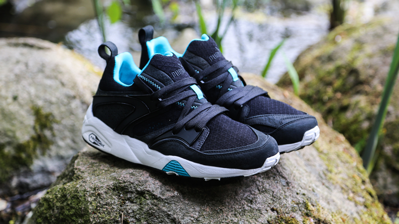 wholesale dealer 8bd8c 82b92 Atlanta PUMA LAB Exclusive: Blaze of Glory Mesh Evolution ...
