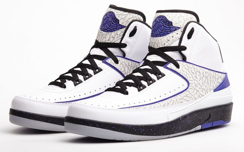 "finest selection 83e8e dd352 Air Jordan 2 Retro ""Dark Concord"" Release Details"