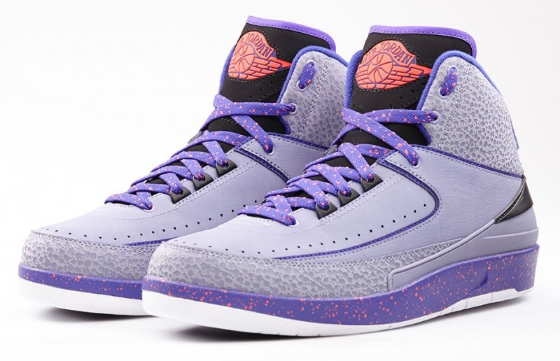 "sports shoes 90515 ba67d Air Jordan 2 Retro ""Iron Purple"" Release Details – Foot ..."