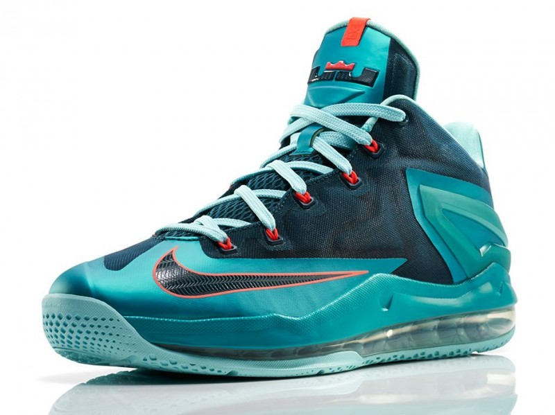 separation shoes b276a 3974e FLUnlockedNikeLeBron11MaxLowTurboGreen01. Low cut and sleek, the Nike  LeBron 11 ...
