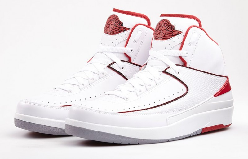 "c7f80f23985c Air Jordan 2 Retro ""White Varsity Red"" Release Details – Foot Locker ..."