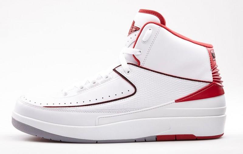 "Air Jordan 2 Retro ""White Varsity Red"