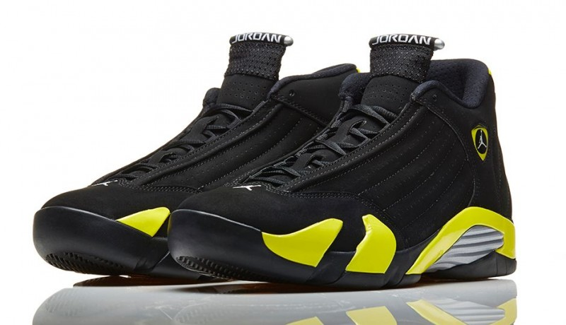 "timeless design 4e981 97238 Air Jordan 14 Retro ""Vibrant Yellow"" Release Details"