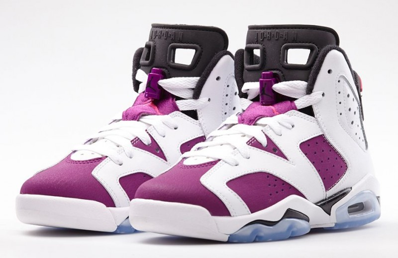 "big sale a0750 05177 Air Jordan 6 Retro Girls ""Vivid Pink"" Release Details"
