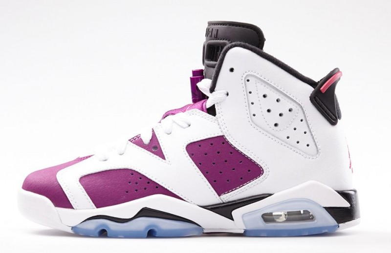 buy popular 231b3 1ee08 FL Unlocked GS Air Jordan 6 Retro Vivid Pink 02