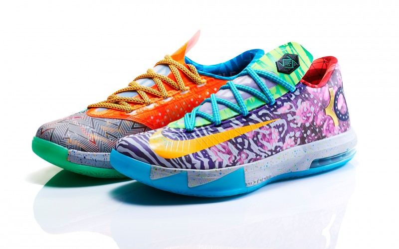 "b10dc8b300b2 Nike KD VI ""What The"" Release Details – Foot Locker Blog"