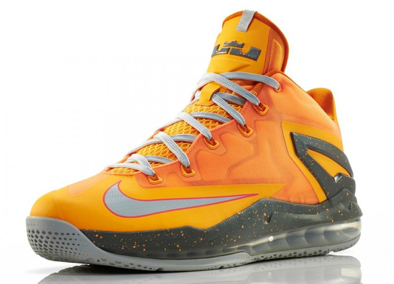 "409ce2759767fb Nike LeBron 11 Low ""Atomic Mango"""