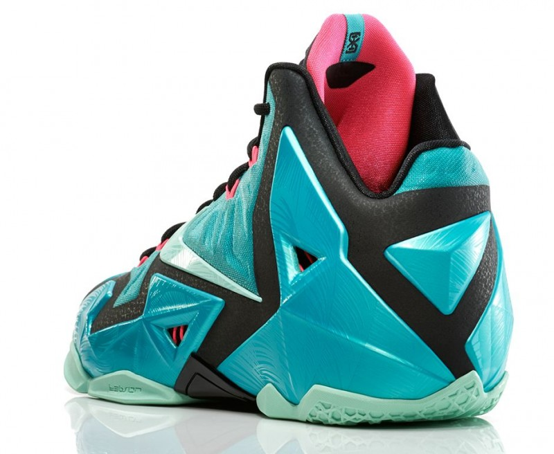 "db7f7afeacaed Nike LeBron 11 ""South Beach"" Release Details – Foot Locker Blog"