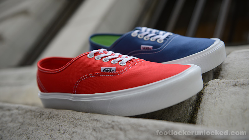 040f29ef86 red vans authentic on feet   Come and stroll!