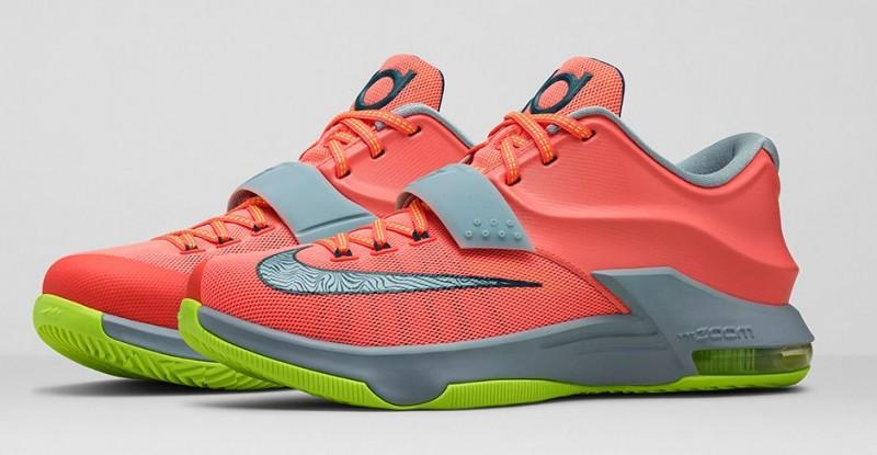"sneakers for cheap cf029 5f710 Nike KD7 ""35,000 Degrees"" – Foot Locker Blog"