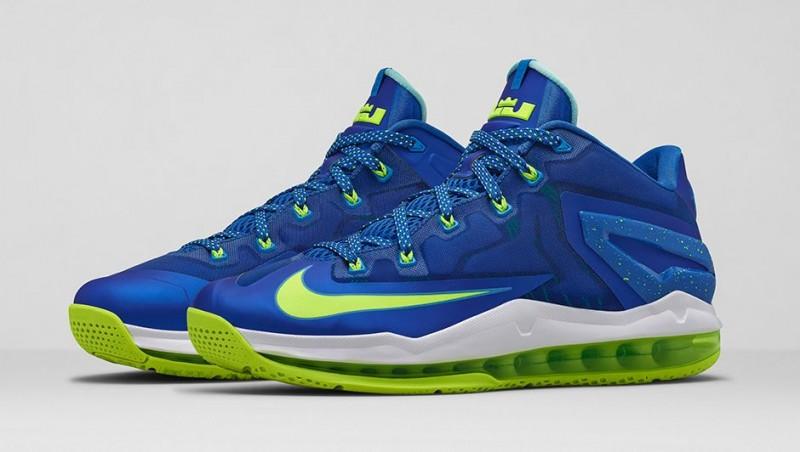 "sneakers for cheap ed1a5 0429a Nike LeBron 11 Low ""Hyper Cobalt"" – Foot Locker Blog"