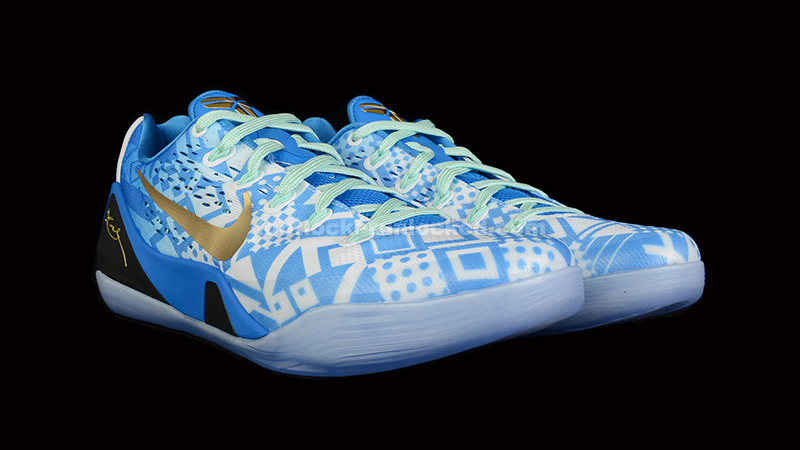 "superior quality fe2e0 8acb1 FL Unlocked Nike Kobe 9 EM Hyper Cobalt 01. The newest release in the Nike  Kobe 9 line is a clean ""Hyper Cobalt"" ..."