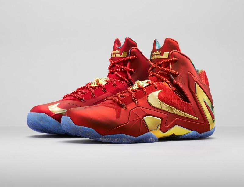b484b38df52c Nike LeBron 11 Elite SE  University Red