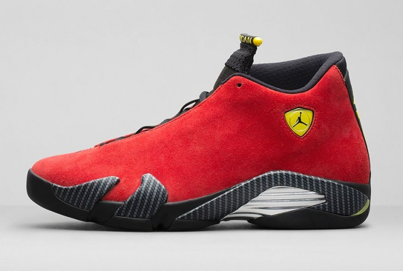buy popular 9ac67 a3b2f Air Jordan 14 Retro 'Red Suede' Release Details – Foot ...