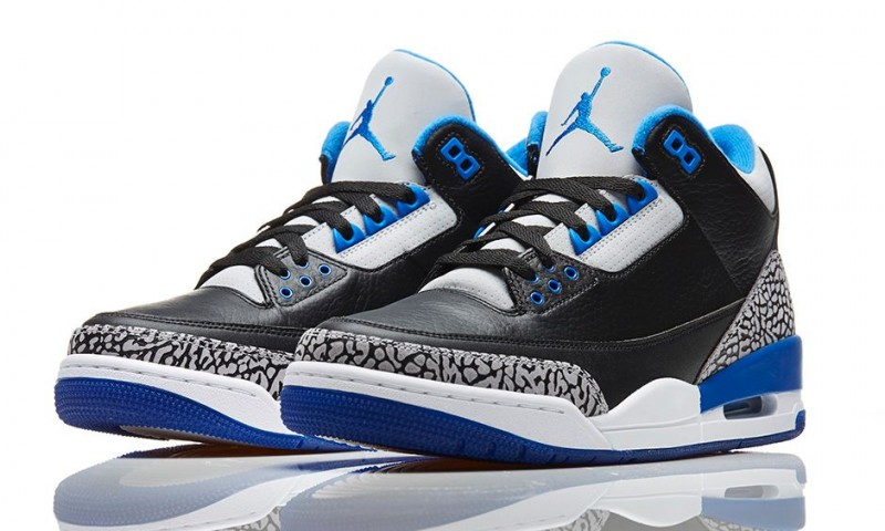 a32c3563c8c3 Air Jordan 3 Retro  Sport Blue  Release Details – Foot Locker Blog