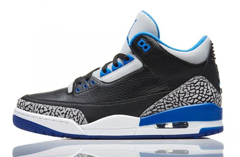 buy online d33ec 2c6b9 Air Jordan 3 Retro 'Sport Blue' Release Details – Foot ...