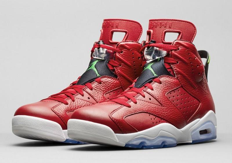 The Complete History of the Nike Air Jordan 6 Sneaker