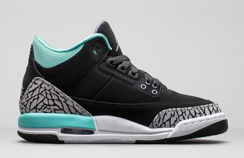 huge selection of b26bf 0f2d0 FL Unlocked FL Unlocked Girls Air Jordan 3 Retro Bleached Turquoise 02.  FL Unlocked FL Unlocked Girls Air Jordan 3 Retro Bleached Turquoise 03