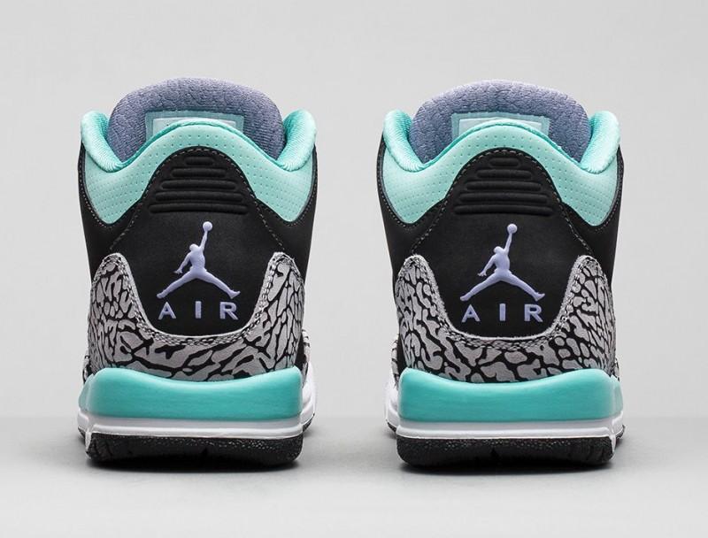girls air jordan 3 retro �bleached turquoise� release