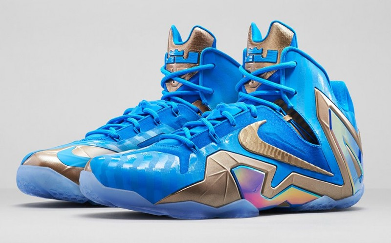 reputable site 63a16 3f551 FL Unlocked FL Unlocked Nike LeBron 11 Elite 3M Blue Hero 01. Inspired by  LeBron ...