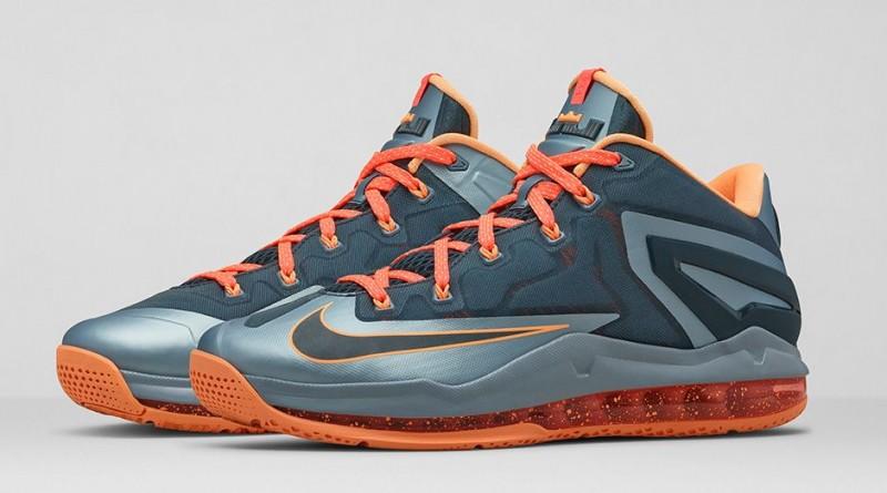 "Nike LeBron 11 Low ""Magnet Grey"" – Foot"