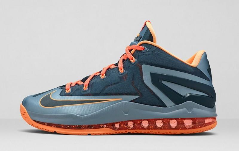 "best sneakers 35260 24c1b Nike LeBron 11 Low ""Magnet Grey"" – Foot Locker Blog"