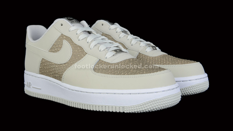 Nike Air Force 1 Low White Grey Python
